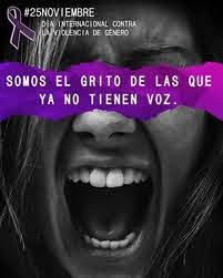 25 de noviembre: Día Internacional Contra La Violencia de Género